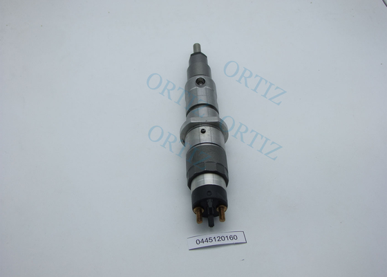 Black / Silver Color BOSCH Common Rail Injector Three Months Warranty 0445120160